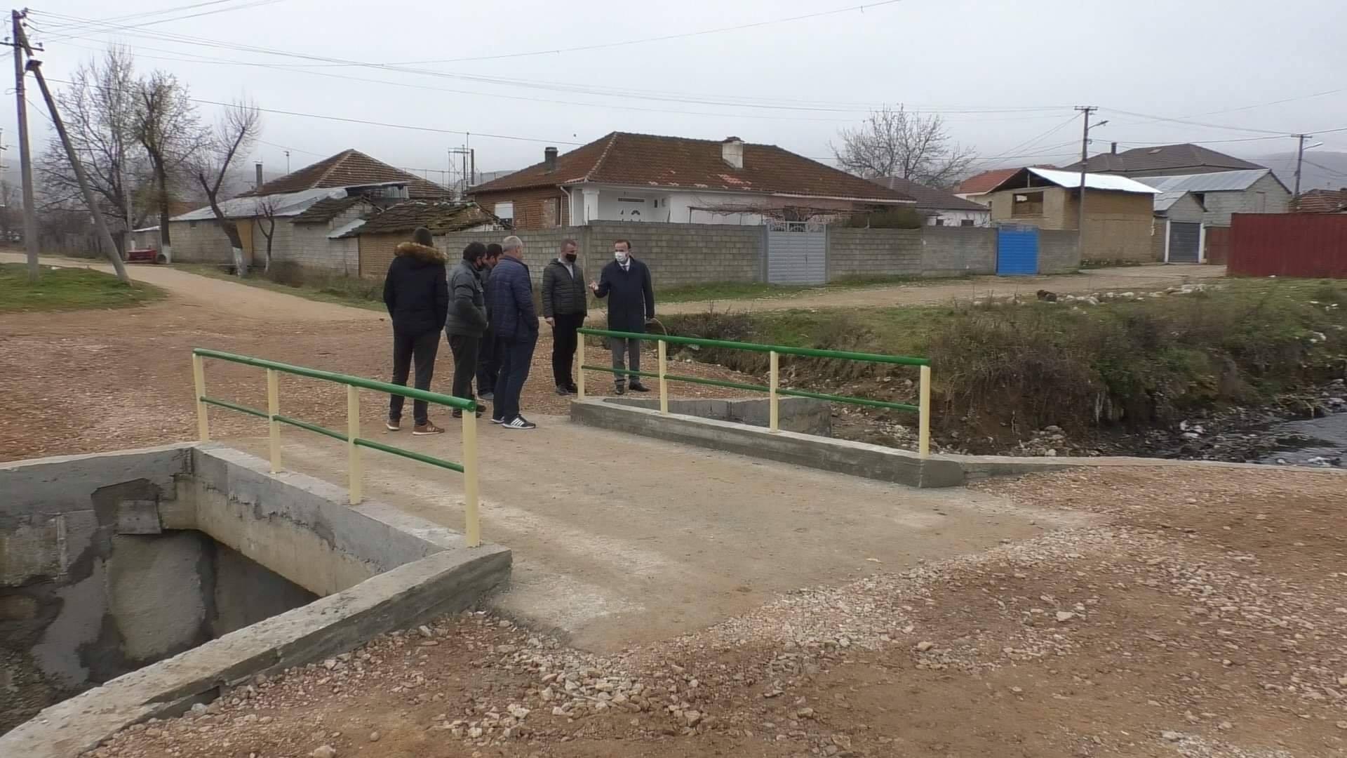 Përfundon ndërtimi  urës në Çerravë