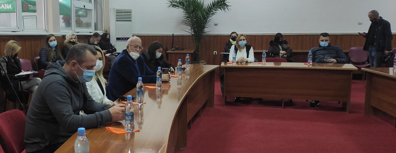 Komisioni Parlamentar i Sigurise Kombetare ne Pogradec