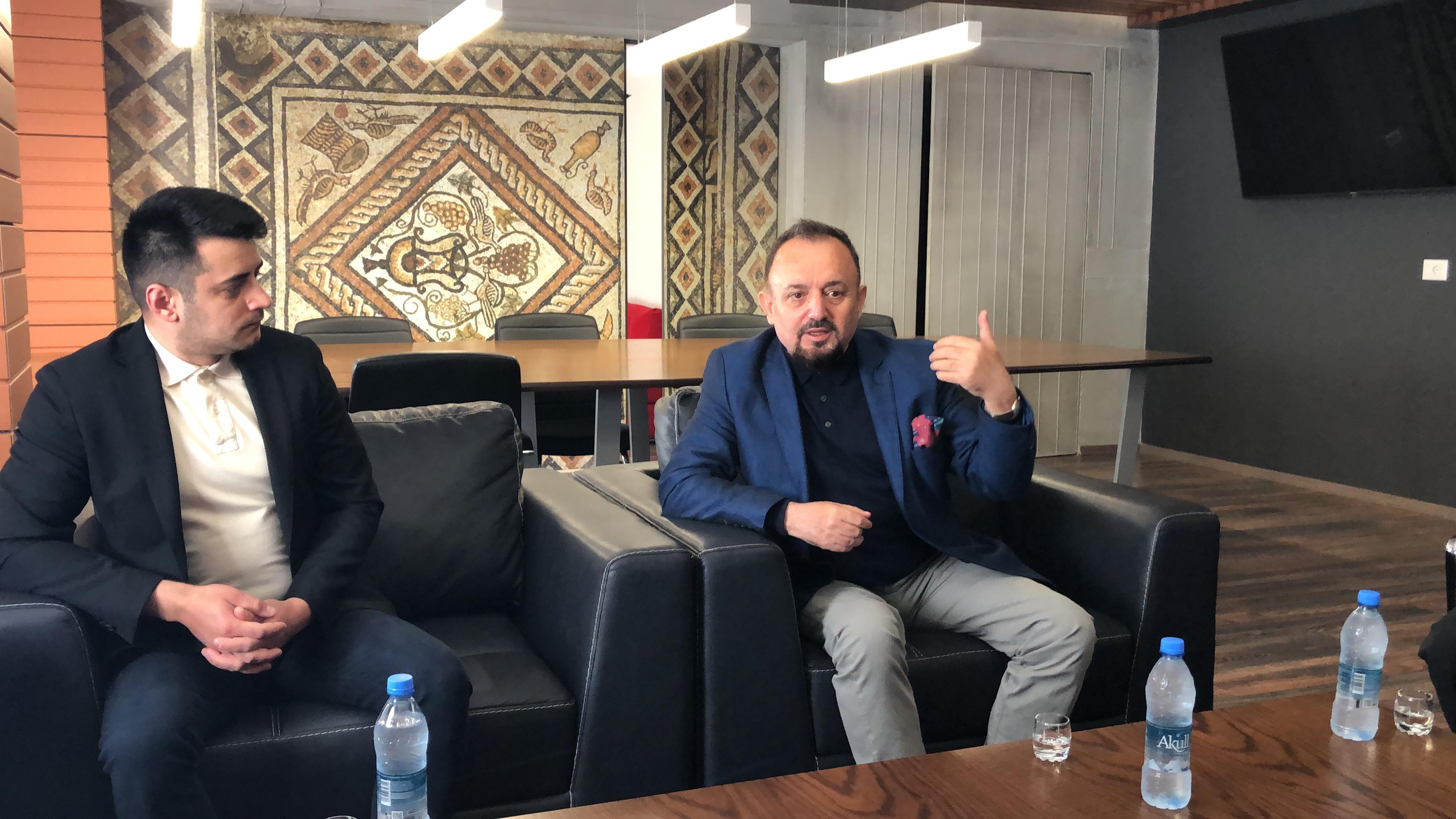 Kryetari i Bashkisë Pogradec priti në takim Deputetin Rumun z. Alin Stoica