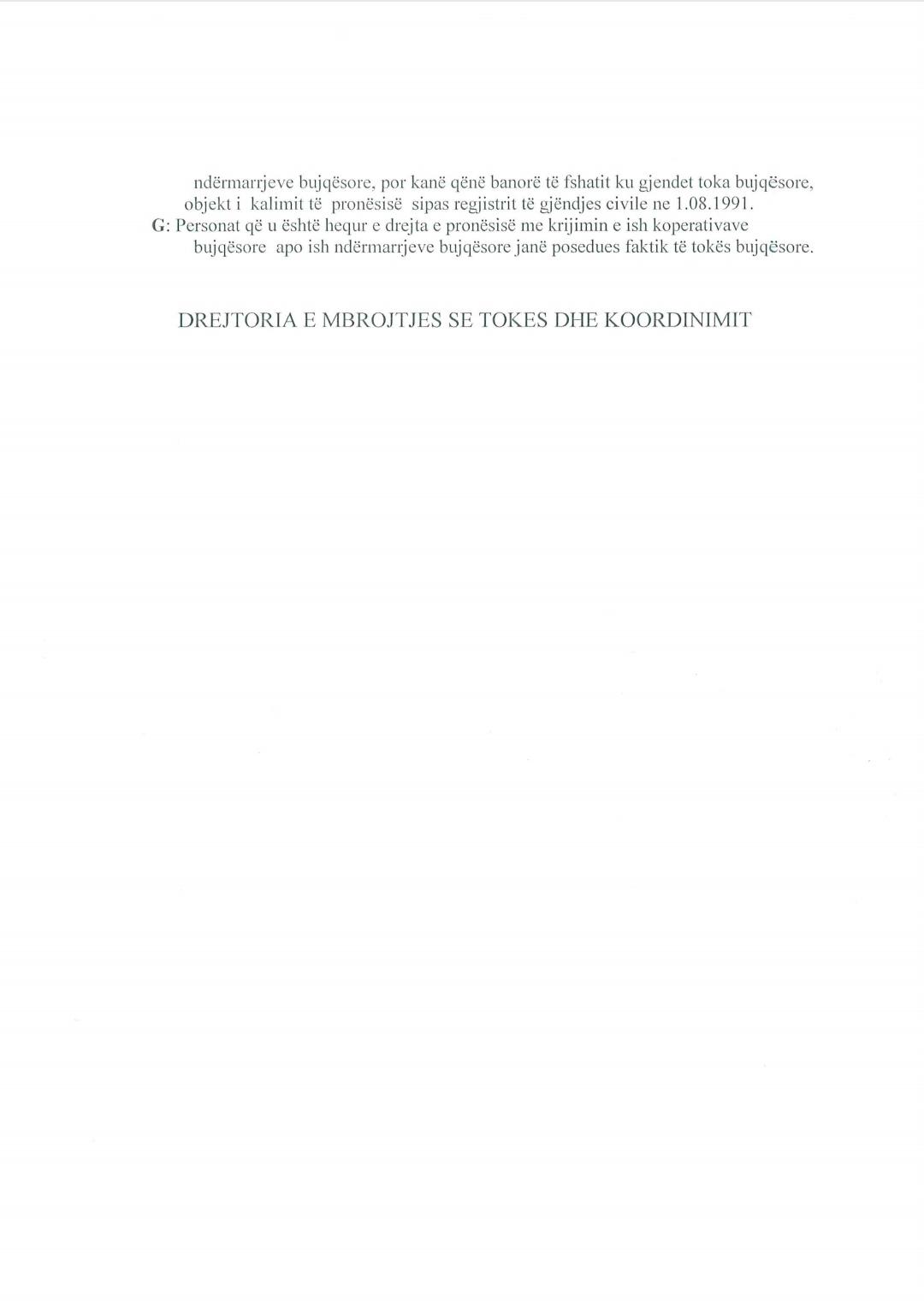 Njoftim me rëndësi për marrjen e çertifikatës së tokës