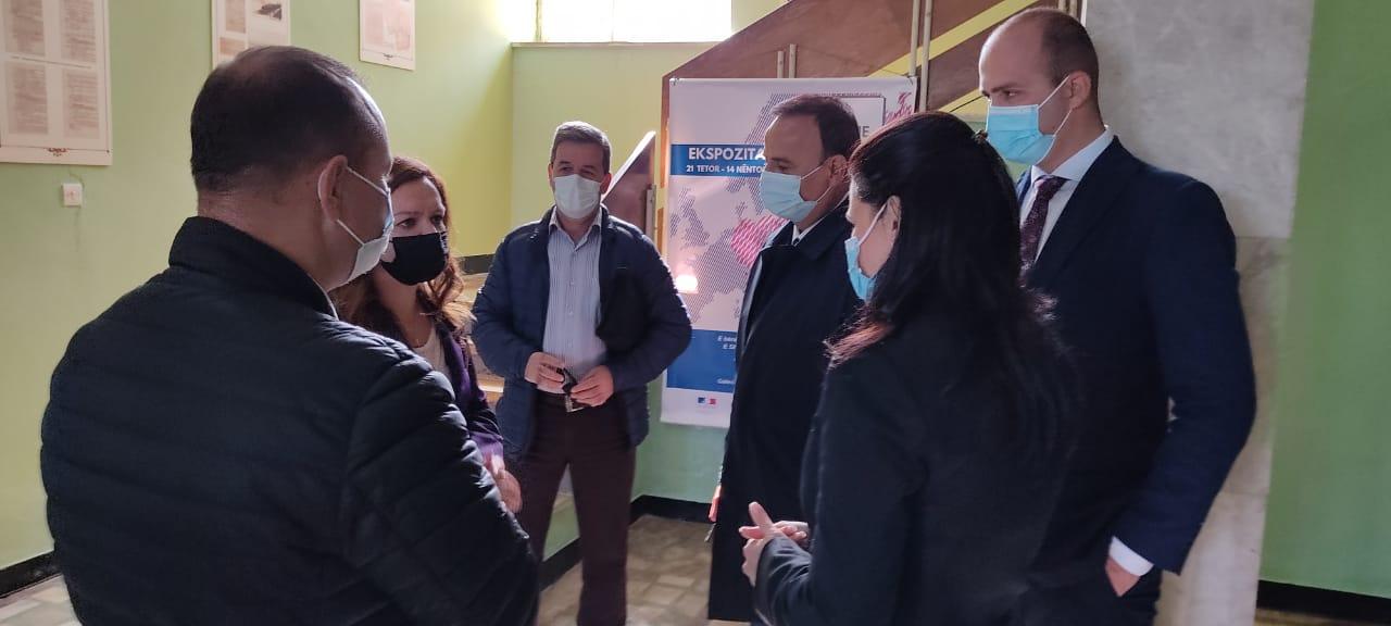 Ambasadori i Austrisë në Tiranë takon Kryetarin e Bashkisë Pogradec