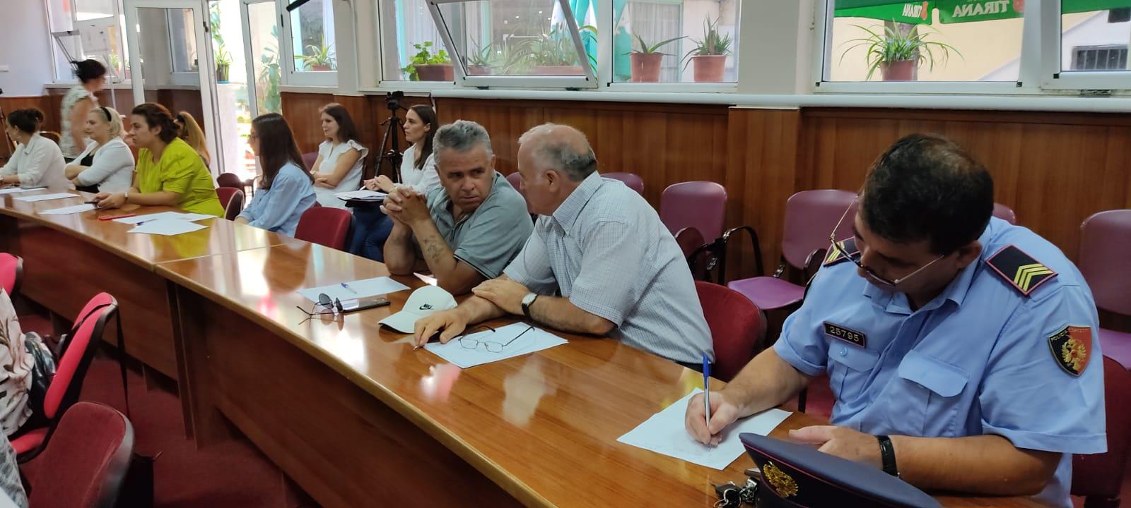 Pogradec mbahet takimi i Këshillit Vendor të Sigurisë Publike